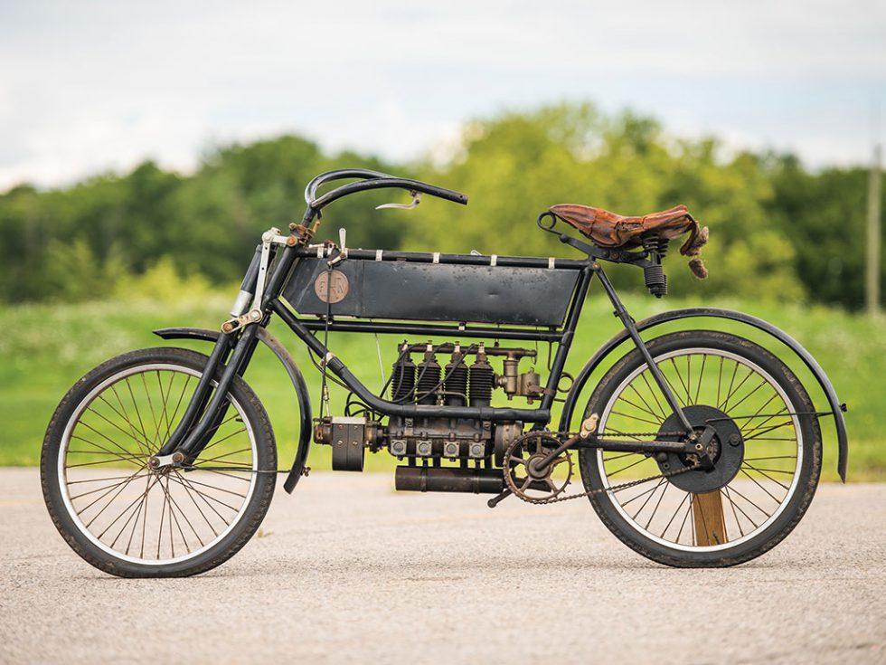 FN Four dừng sản xuất năm 1923