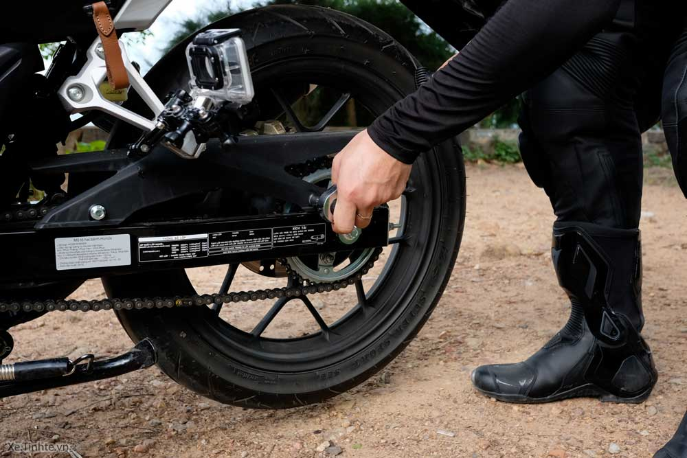 Kiểm tra xe máy