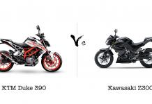 KTM Duke 390 vs Kawasaki Z300