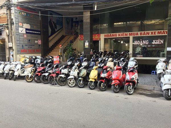 Cửa hàng xe máy Hoàng Kiên