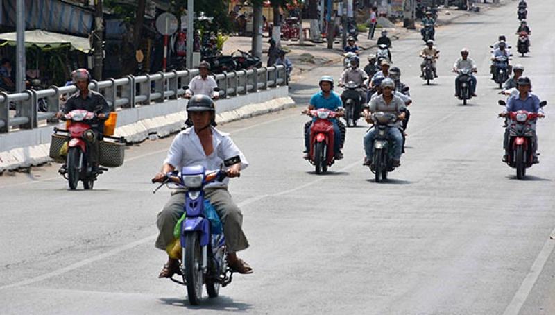 Quy định về tốc độ xe máy