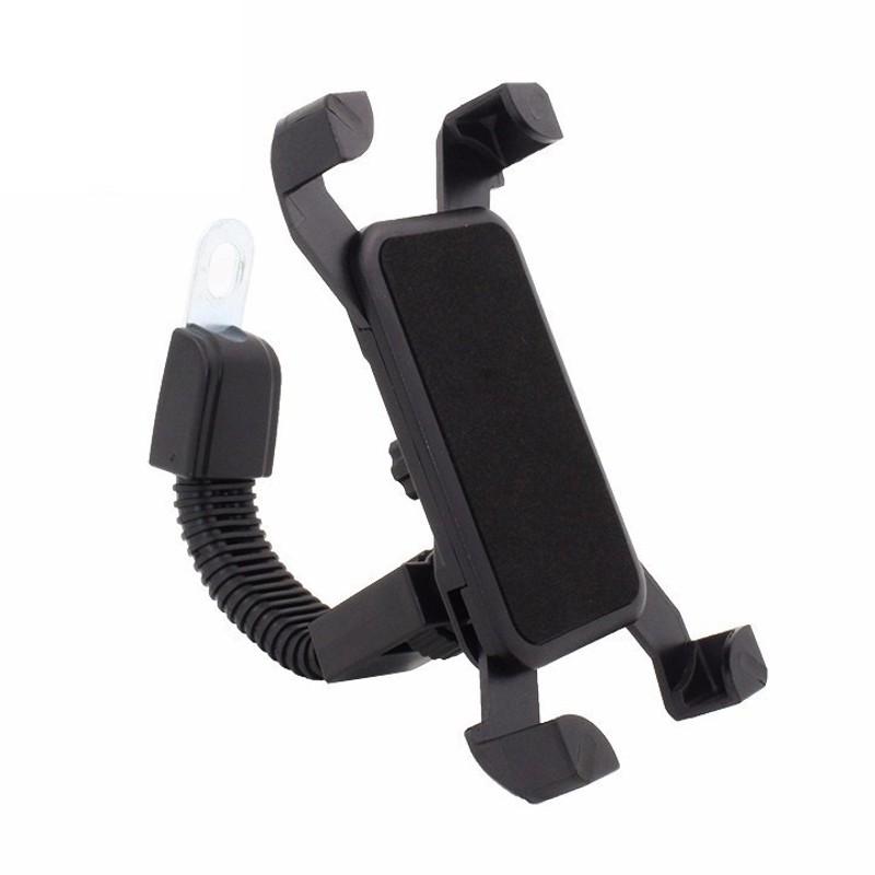 Chế giá đỡ điện thoại trên xe máy