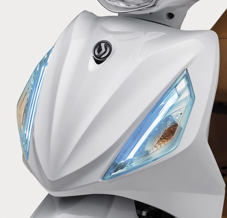 Dải LED xanh ấn ượng