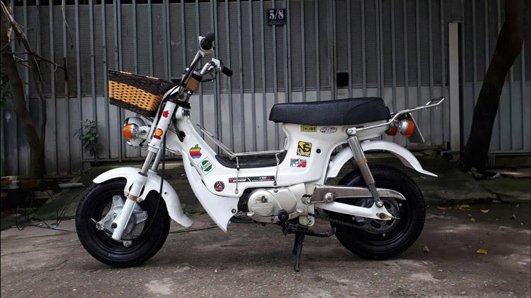 Xe Honda Chaly 50cc Rất Nhỏ Gọn