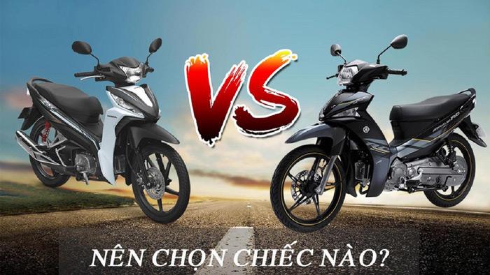 Nên chọn chiếc nào giữa Yamaha và Honda
