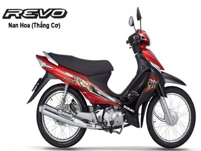 Revo 110-Suzuki muốn thống lĩnh thị trường