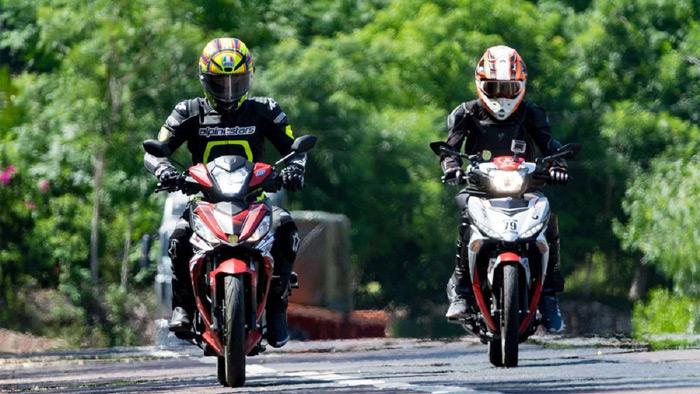 Yamaha mang đến cảm giác bốc và mạnh mẽ hơn khi chạy đường dài