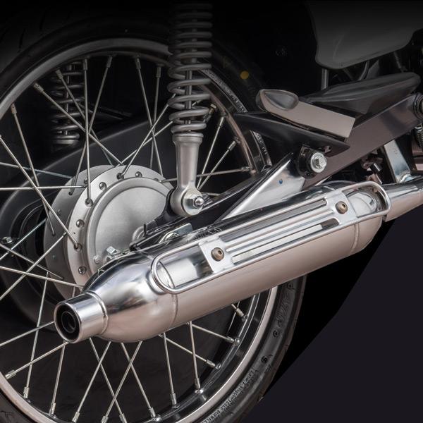 Điều chỉnh bô xe để làm xe máy chạy êm hơn