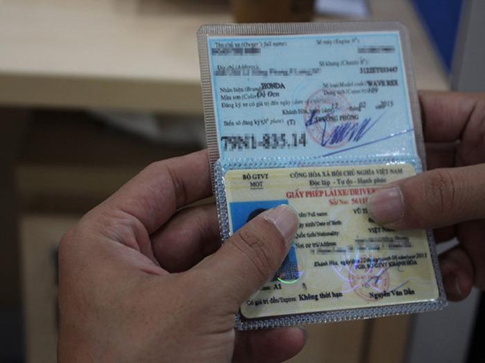 Loại giấy tờ thuộc xe cũ chính chủ, hợp lệ
