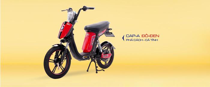 Xe đạp điện Cap A Hkbike cũ