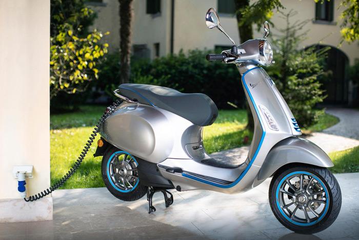 Mẫu xe máy điện Vespa của Piaggio