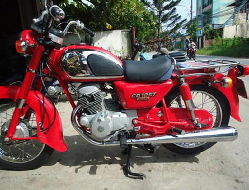 Honda CD 125 từ lâu đã không còn được bán tại Việt Nam