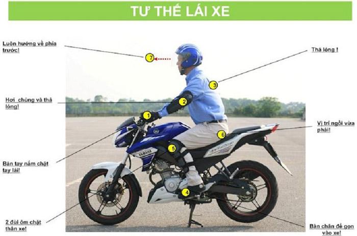 Cách chạy xe côn tay