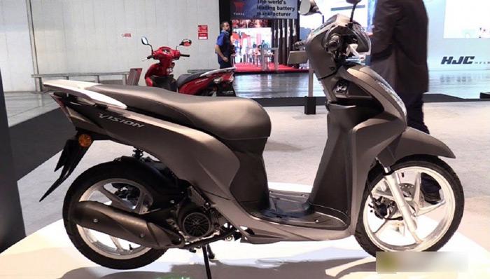 Phiên bản Honda Vision được trang bị hệ thống Smartkey