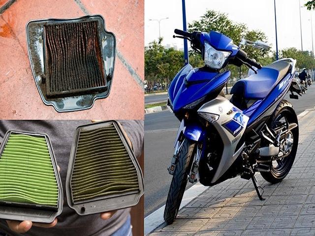 Những tác dụng của lọc gió xe máy