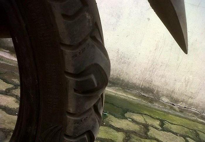 Lốp bị phồng
