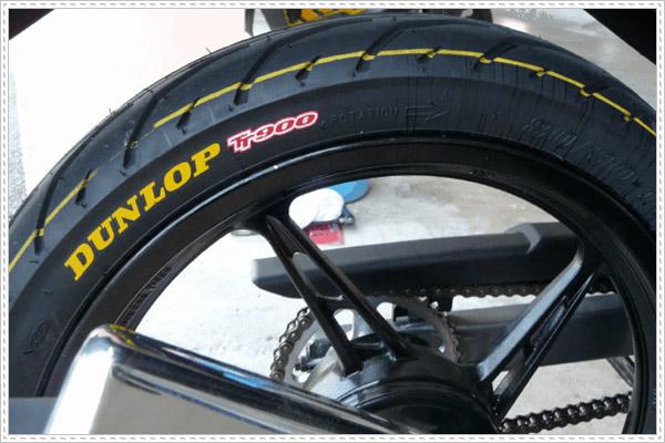 So sánh ưu điểm của lốp xe Michelin và Dunlop