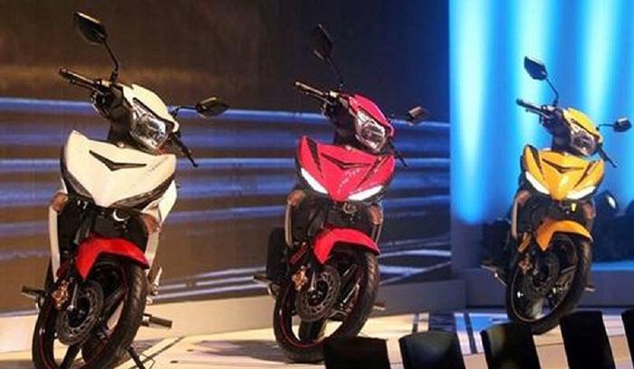 Ba màu xe của Yamaha Exciter 150 RC