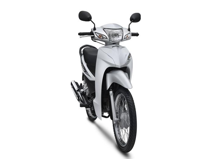 Honda Wave Alpha với ngoại hình mềm mại