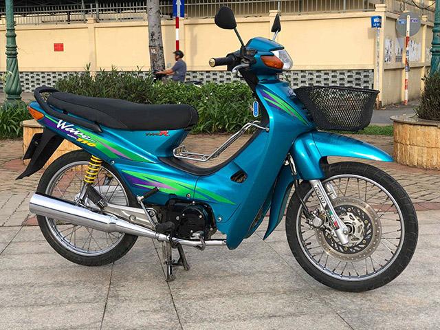 Xuất hiện xe Wave Thái 110 thuộc hàng hiếm trên đường phố