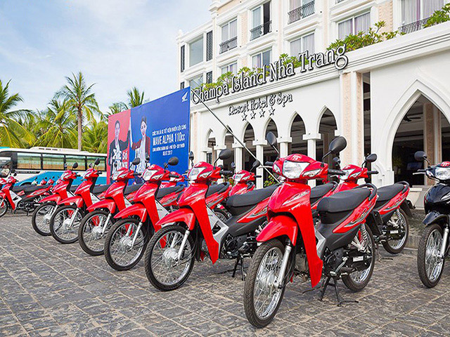 Cuộc thi chạy thử nghiệm Wave Alpha 110 tại Nha Trang