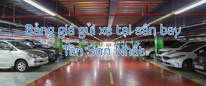 Giá gửi xe tại sân bay Tân Sơn Nhất