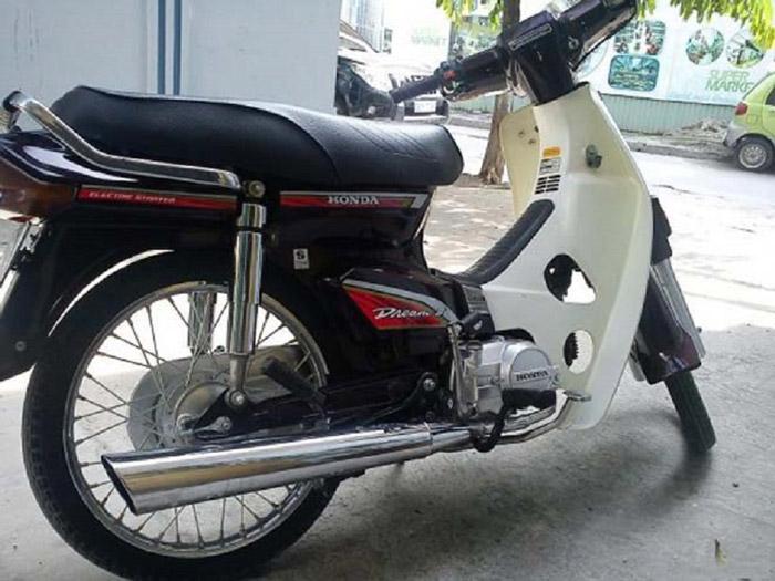 Mẫu xe Honda Dream II Thái, một thời huyền thoại