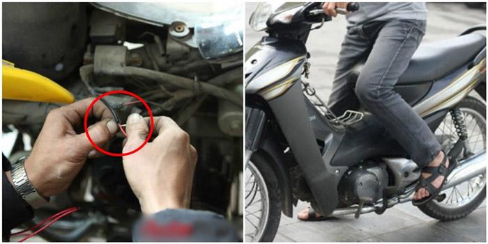 Nối dây điện để khởi động xe máy trong tình huống khẩn cấp, nhưng nó đòi hỏi bạn cần có kỹ năng
