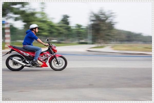 Mức xử phạt cho xe máy khi vi phạm về tốc độ