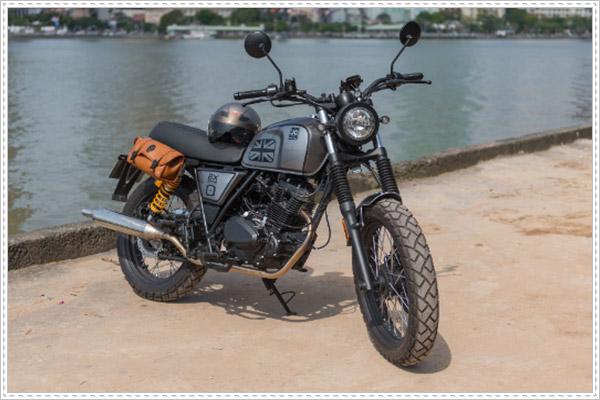 Brixton BX 150 - lựa chọn tuyệt vời cho moto phong cách Classic