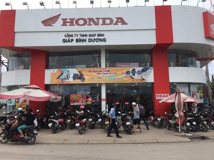 Head Honda Giáp Bình Dương