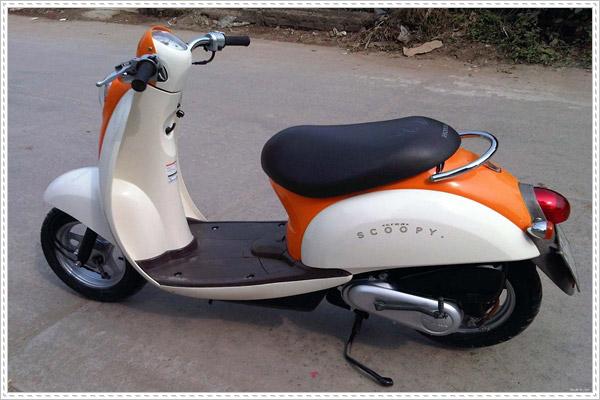 Xe Honda Scoopy Nhật bãi tại Việt Nam