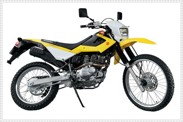 Suzuki DR 200S - xe cho người có chiều cao khiêm tốn