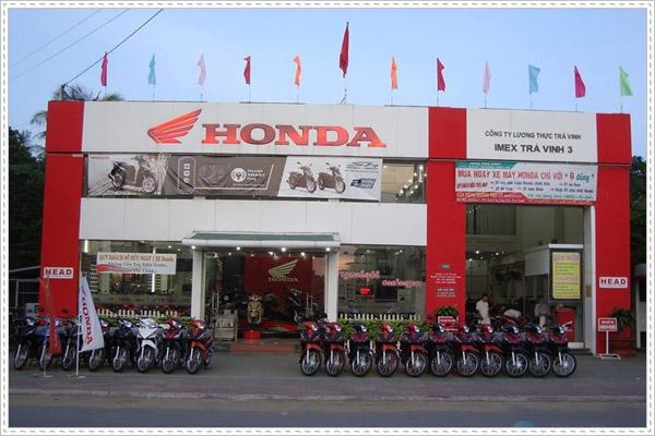 Đại lý ủy nhiệm Honda Thành Hiếu