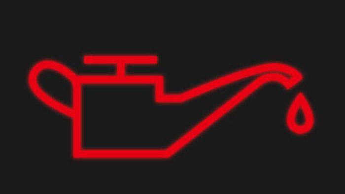 Đèn báo áp suất dầu động cơ