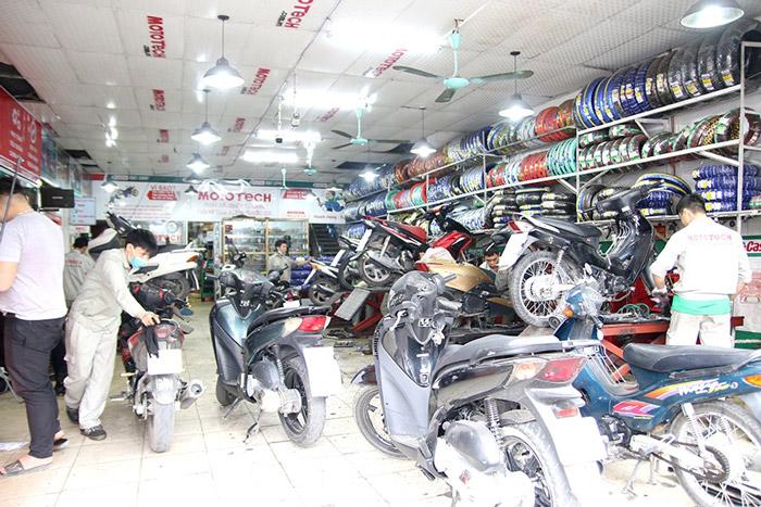 Trung tâm sửa chữa xe máy uy tín Mototech