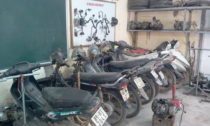 Vì sao nên học nghề sửa xe máy?