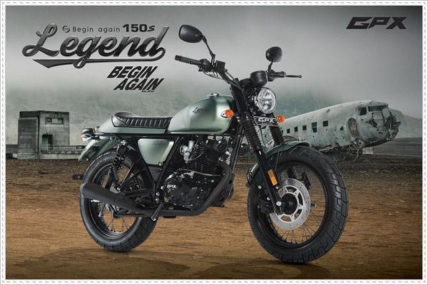 GPX Legend 150S là mẫu moto Classic đáng mua