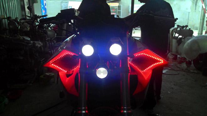 Dải đèn Led tạo ấn tượng và cho ánh sáng mạnh vào ban đêm