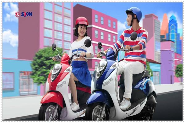 SYM Elite 50cc - lựa chọn hoàn hảo cho học sinh