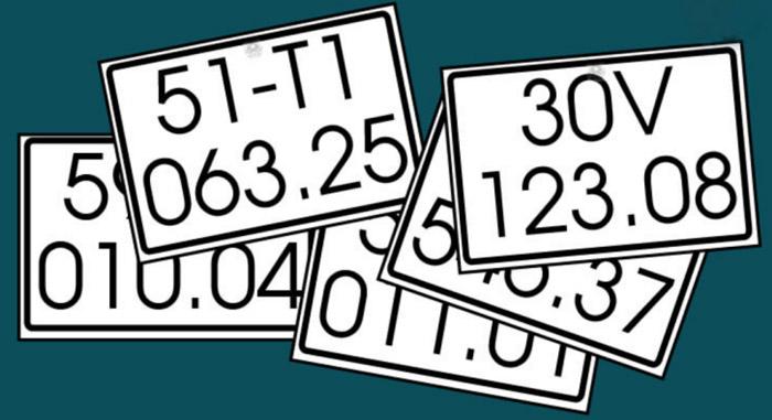 Cách nhận biết biển số xe giả trên thị trường