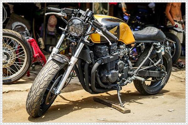 Độ Honda CB750 lên Cafe Racer chỉ 30 triệu