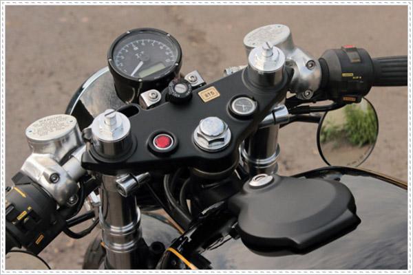 Honda CB750 độ Cafe Racer đẹp từng chi tiết