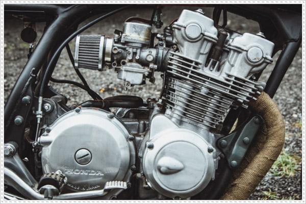 Vẫn giữ nguyên động cơ của Honda CB750