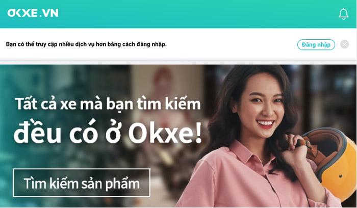 Sàn giao dịch thương mại trực tuyến Okxe Việt Nam