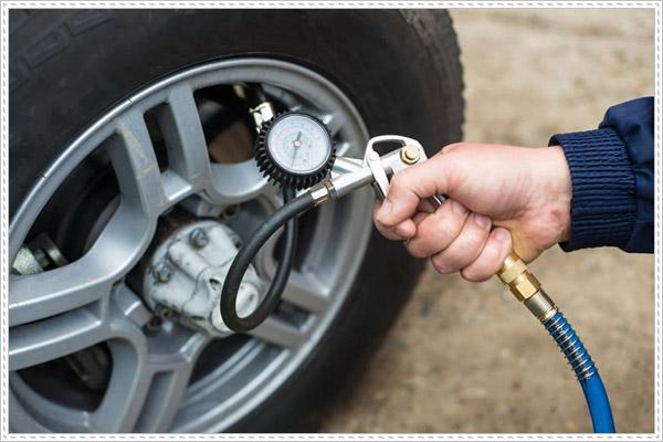 Một số lưu ý khi bơm lốp xe ô tô