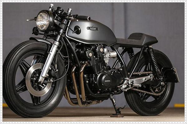 Ý tưởng để Honda CB750 độ Cafe Racer cực chất