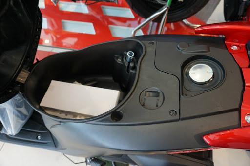 Bình xăng xe Vision bao nhiêu lít?