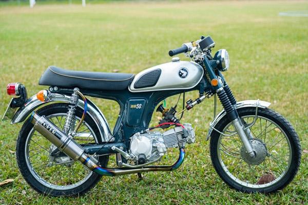 Tại sao Honda 67 lại được nhiều người độ Cafe Racer?
