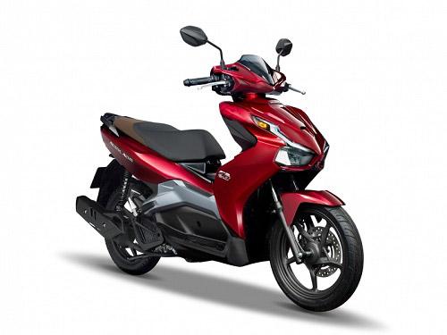AirBlade 2020 bản tiêu chuẩn 150cc đỏ bạc nổi bật